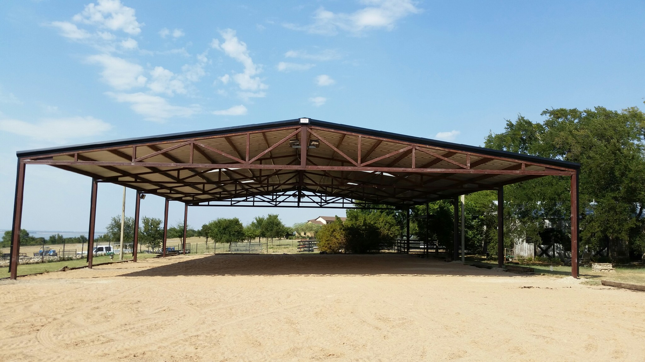 Large Clearspan Riding/Roping/Barrel Arena