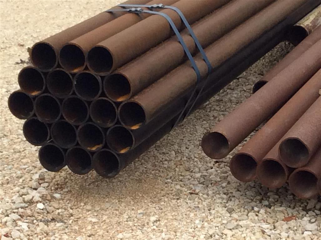 Small Bundle of Steel Pipe
