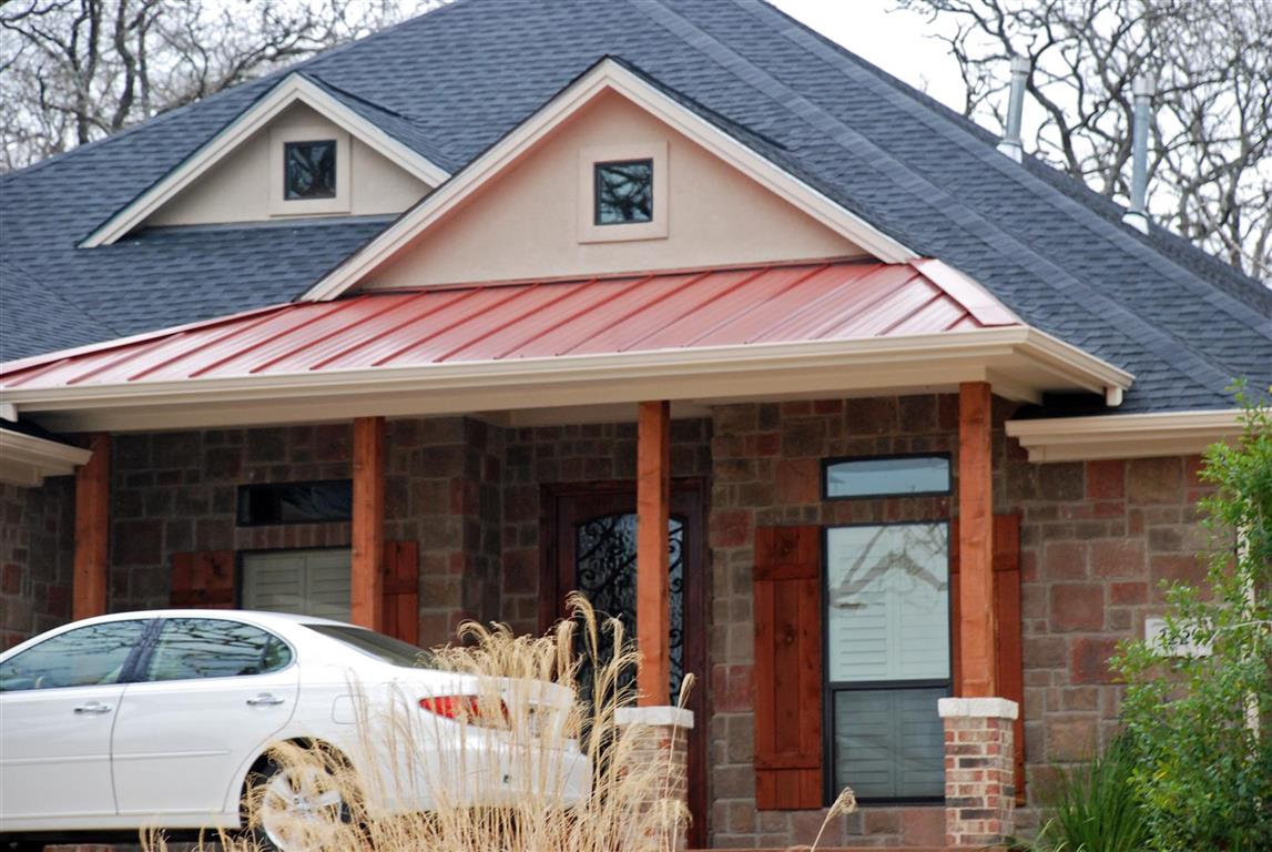 Metal and Shingle Roofing Mix